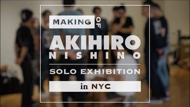 Ahikiro Nishino's solo exhibition in NY