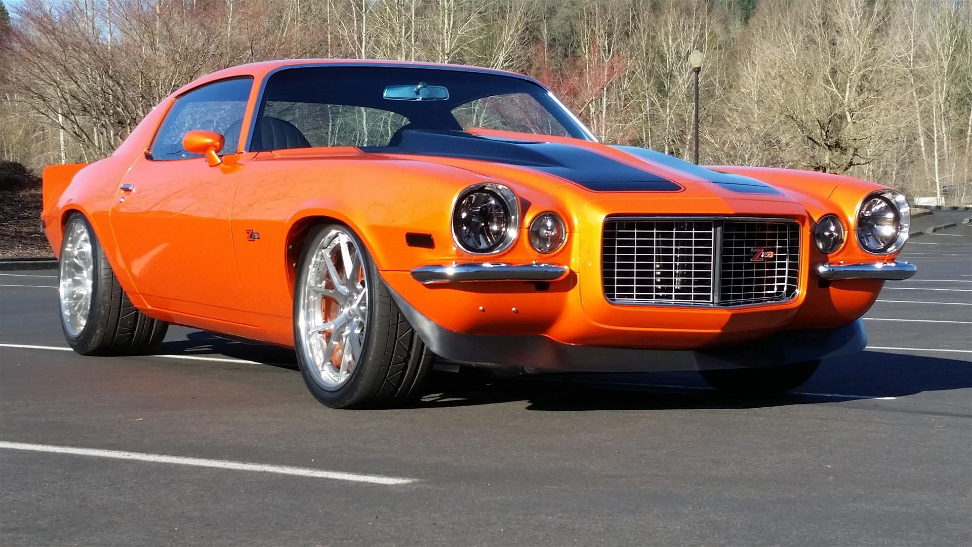 Super Camaros Tm 1971 Super Camaro Ls3 Orange Resto Mod