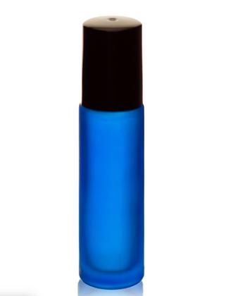 Cobalt Blue Glass Roll-on Bottle (10ml)