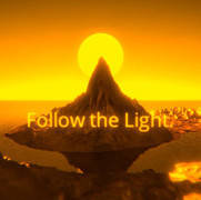 VR Game: Follow the Light