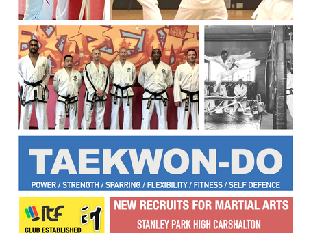 Try Martial Arts Right Now with us at Banstead TaeKwon-Do