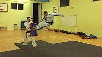 Banstead TaeKwon-Do Martial Arts - James Davis flying twin side kick