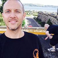 James Davis training Silat SBL in Dundee Scotland