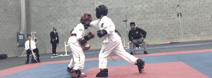 Banstead TaeKwon-Do Student Wins Kickboxing Sparring Bout