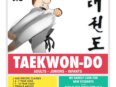 Martial Arts Training for Juniors and Tiny TKD'ers