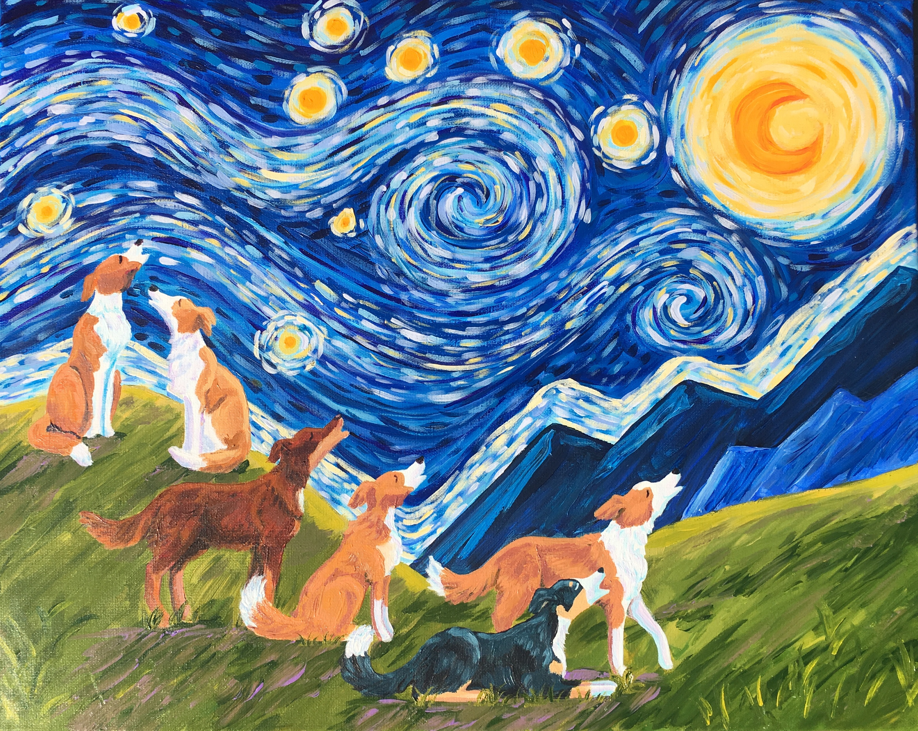 Johnson's Starry English Shepherds