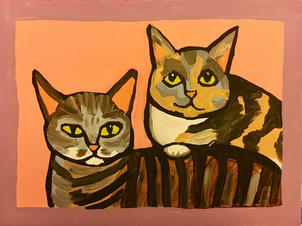 Cats by Mia