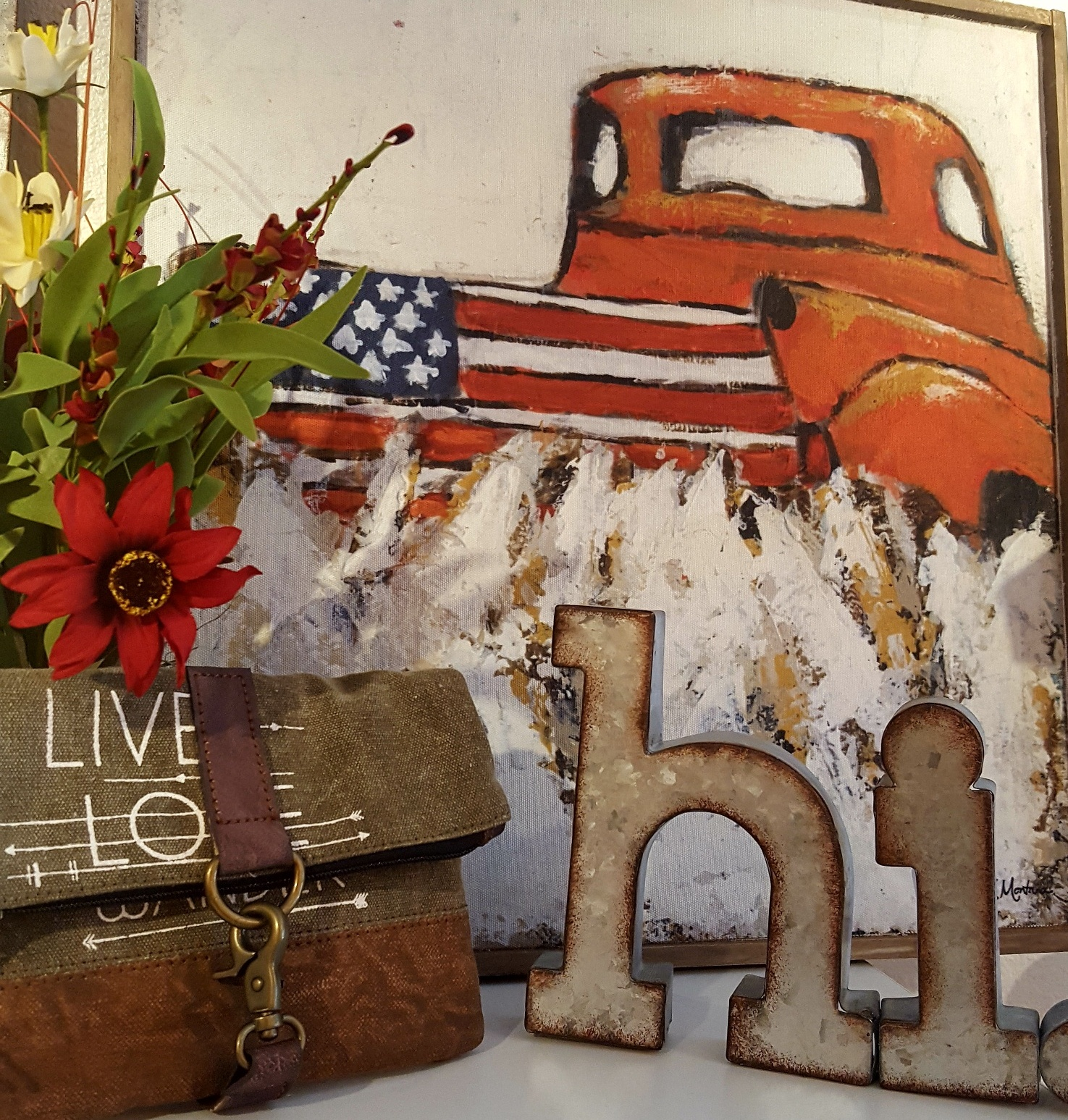Hi Truck Flower