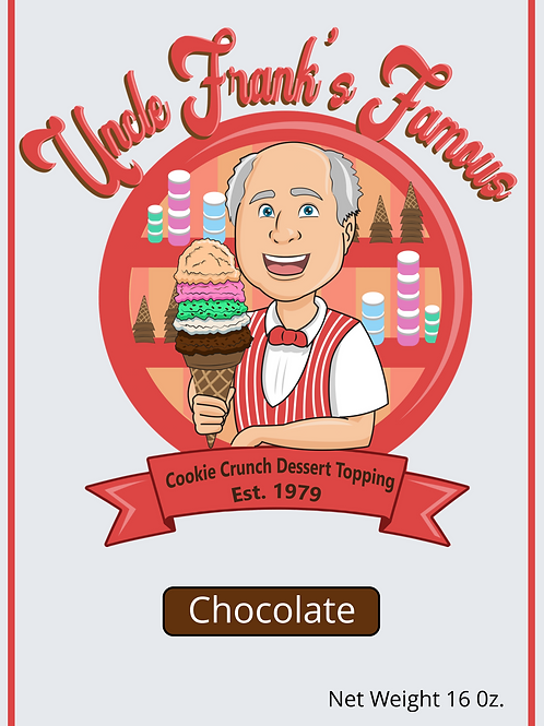 Uncle Franks Famous Chocolate Cookie Crunch 10 OZ