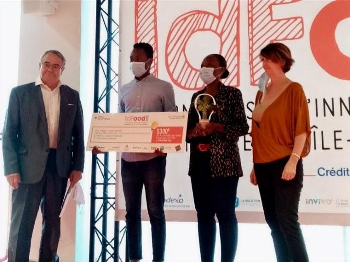 Les Pleurotes de Paris lauréat du concours IdFood 2020