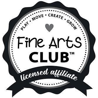 BLACK - Fine Arts Club Ribbon LICENSED A