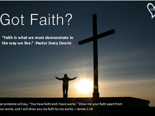 Have you been faithing?
