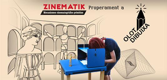 Jocs Ambulants · Zinematik al Festival de dibuix OLOT DIBUIXA 2016