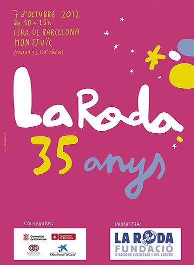 """Jocs Ambulants · 35 aniversari """"Fundació la Roda"""", 2012"""