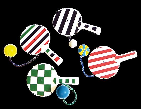 Raqueta amb bola