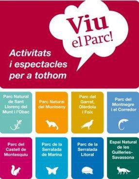 """Jocs Ambulants · Parcs naturals de Catalunya,""""Viu el Parc!"""" 2013"""