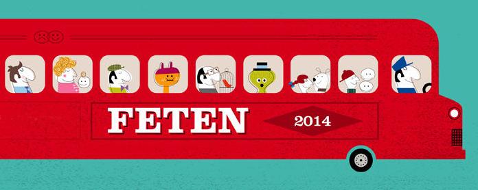 Jocs Ambulants al FETEN 2014, Fira Europea d'Arts Escèniques per a Nens i Nenes · Gijón