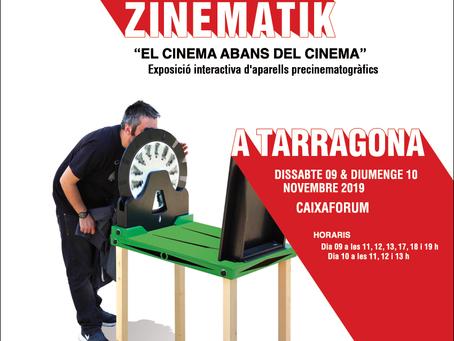 ZINEMATIK AL CAIXAFORUM DE TARRAGONA · 09&10/11 2019