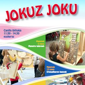 Jocs Ambulants al JOKUZ JOKU, Portugalete, mayo de 2013