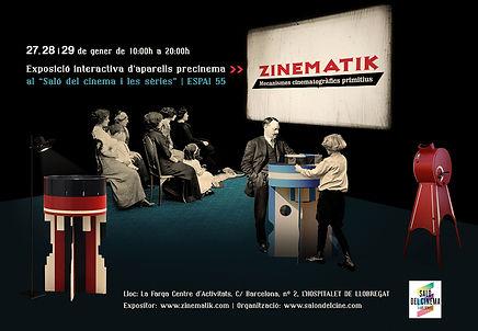 Jocs Ambulants · Zinematik al Saló del Cinema 2017, L'Hospitalet