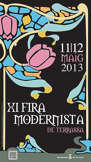 Jocs Ambulants a la XI Fira Modernista de Terrassa 2013