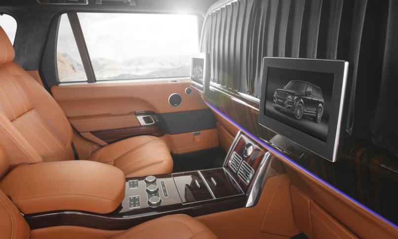 Перегородка в Range Rover