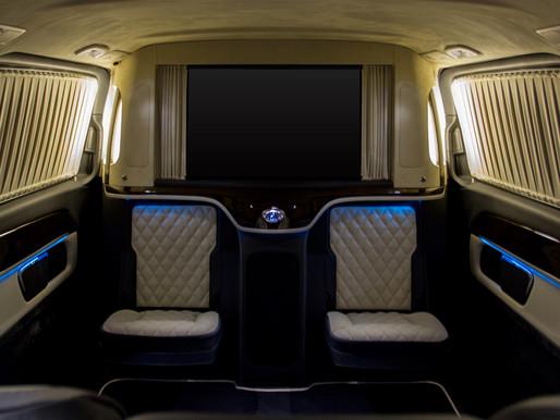 Переоборудование салона Mercedes-Benz V-Class V250