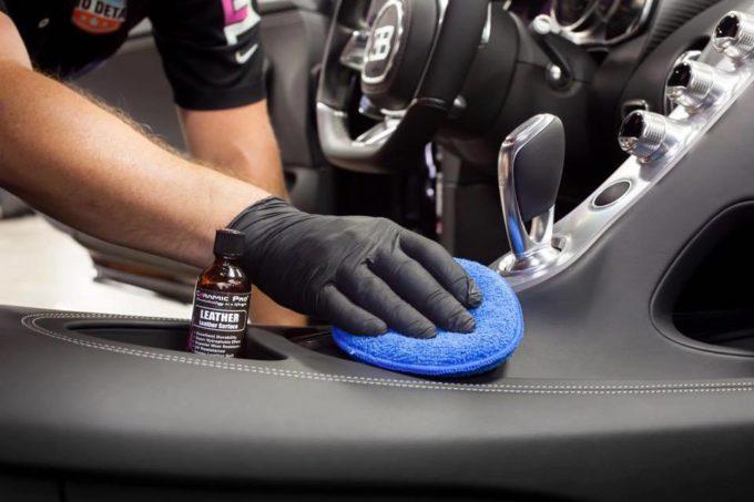 Защитное керамическое покрытие кожи