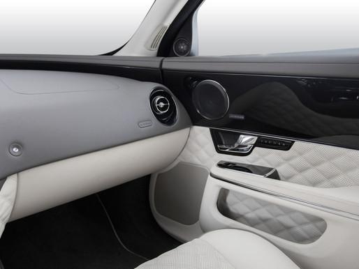 Перетяжка салона Jaguar XJ L