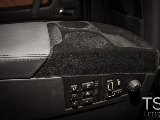 Установка комфортабельных раздельных сидений в Mercedes G-класс