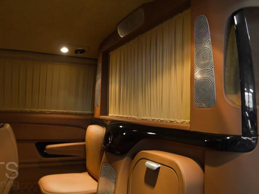 """Новый тюнингованный салон Mercedes  V-Class от """"TS tuning"""""""