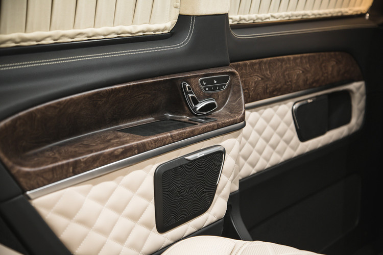 Мобильный кабинет на колесах Mercedes-Benz V-Class