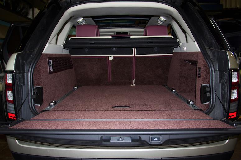 Тюнинг салона Range Rover