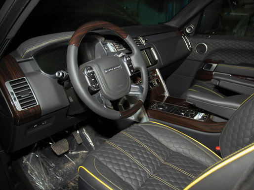 Стайлинг Land Rover в стиле Mansory