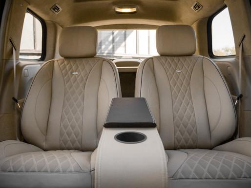 Установка VIP сидений в Mercedes ML