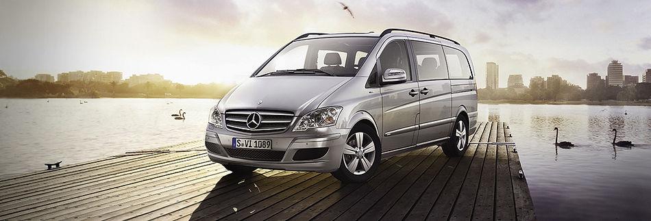 Тюнинг Mercedes Viano - мобильный офис на колёсах класса «Luxury»