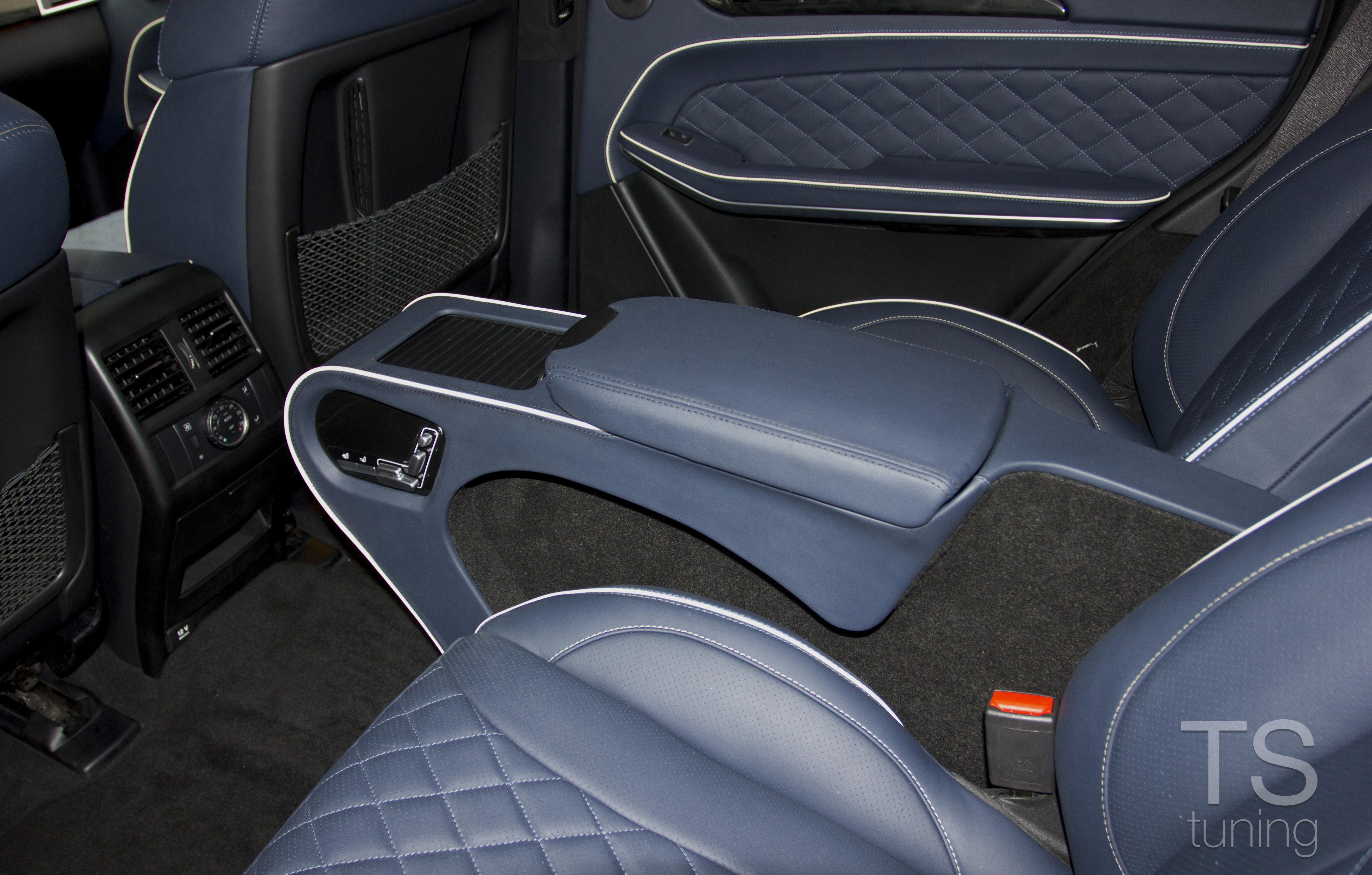 Тюнинг салона Mercedes Benz GL Class
