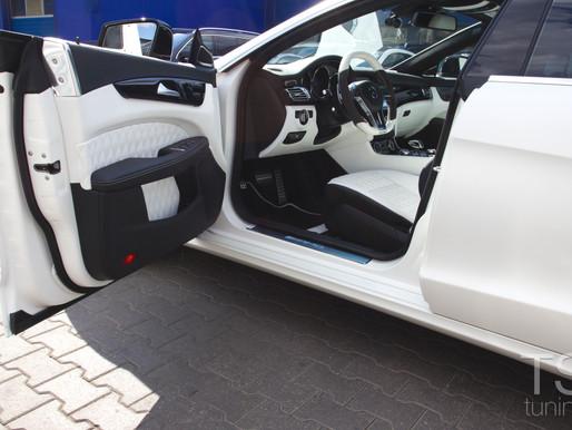 Mercedes CLS AMG стайлинг салона в стиле Designo