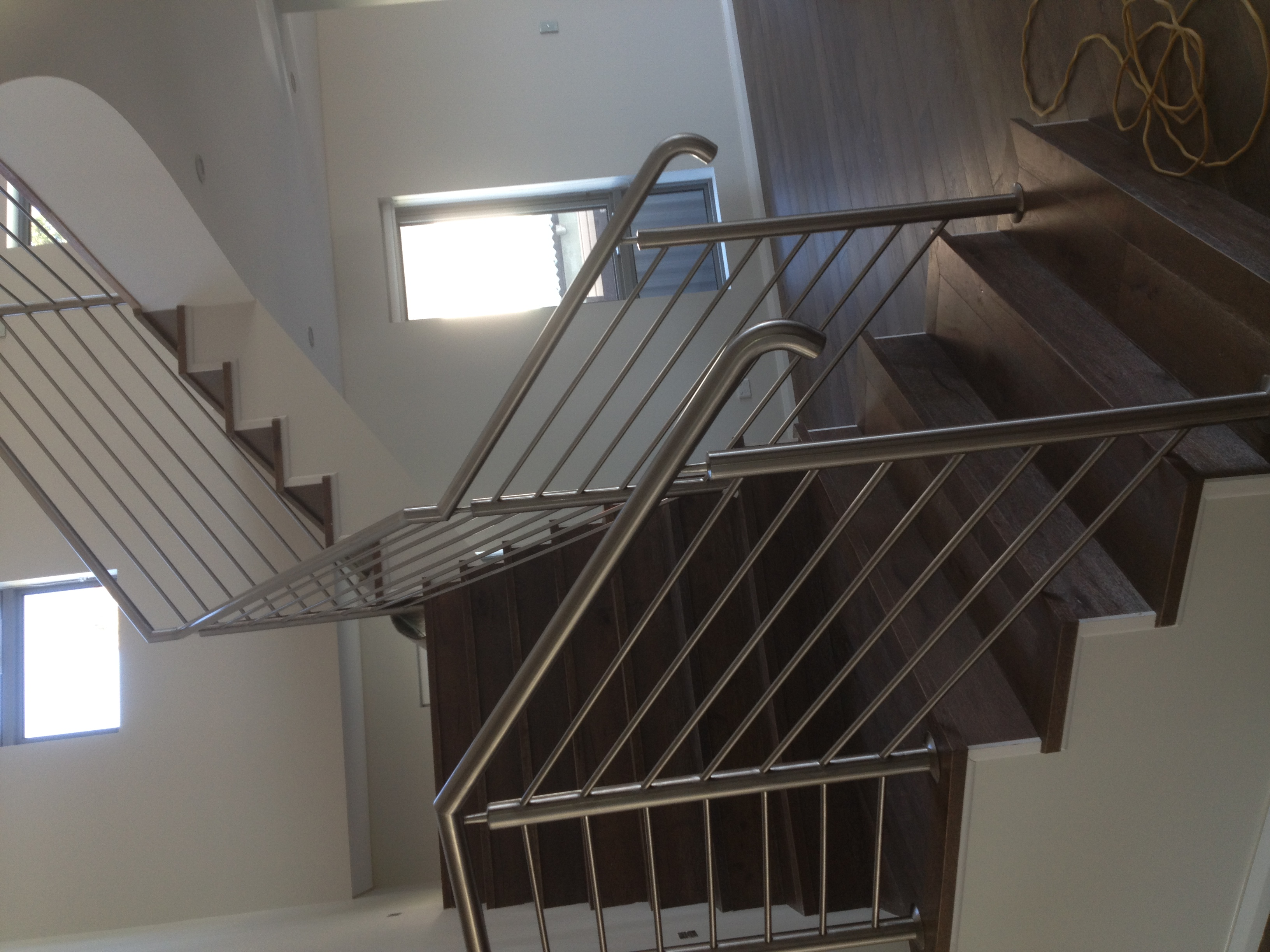 stainless horizontal balustrad