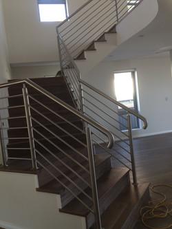 stainless horizontal balustrad