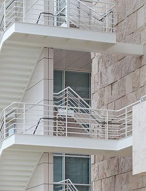 Mild steel balustrades