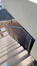 Custom wire balustrades.