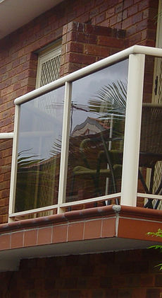 aluminum balustrades, aluminum glass balustrades