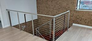 Void wire balustrades.