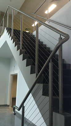 stainless steel wire balustrades, rope wire balustrades