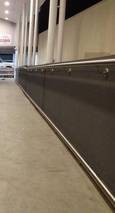 stainless steel handrail, grab rail