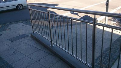 Handrail + Balustrade.