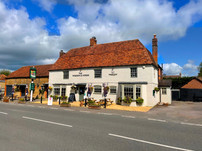Front of The waggon and horses
