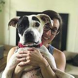 Lauren and puppy.JPG