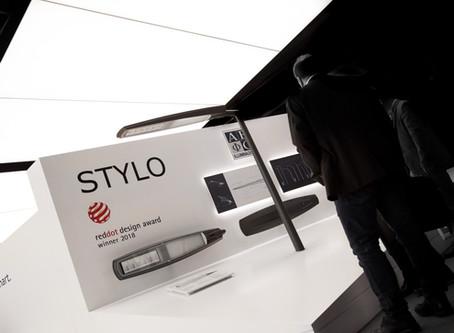 Ausgezeichnet - STYLO erhält Red Dot Award für hohe Designqualität
